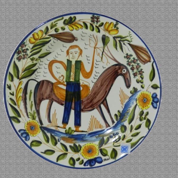 Plato burro